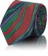 Prada Men's Abstract-Pattern Jacquard Necktie