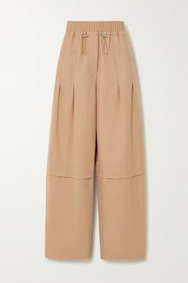 3.1 Phillip Lim Serge Wool-blend Twill Straight-leg Pants - Sand