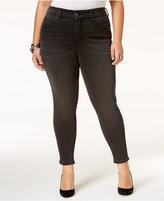 Melissa McCarthy Trendy Plus Size Sinister Wash Pencil Jeans