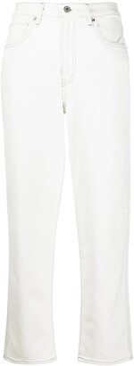 Levi's Made & Crafted straight-leg cropped jeans
