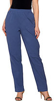 As Is Denim & Co. Petite Pull-on Gauze Pants with Pockets