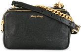 Miu Miu chain detail shoulder bag - women - Goat Skin/metal - One Size