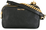 Miu Miu chain detail shoulder bag