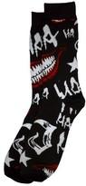 Bioworld Joker Black Crew Socks