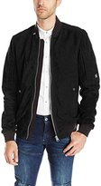 G Star Men's Batt Suede Bomber