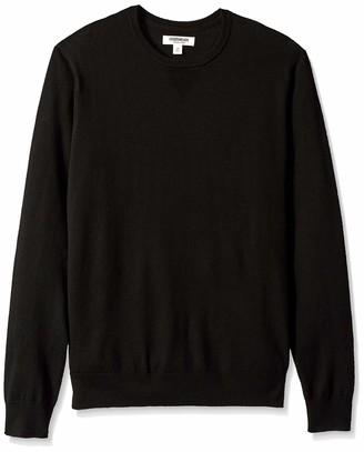 Goodthreads Amazon Brand Men's Lightweight Merino Wool Crewneck Sweater