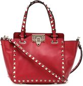 Valentino 'Rockstud' trapeze tote - women - Leather/Metal (Other) - One Size