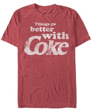 Fifth Sun Men's Better With Coke Short Sleeve T- shirt
