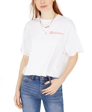Junk Food Clothing Cotton Cropped Graphic T-Shirt