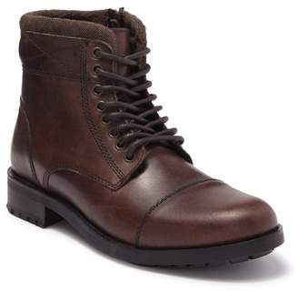 Steve Madden Temper Leather Lace-Up Boot