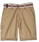 US Polo Association U.s. Polo Assn. Boys' Belted Short.