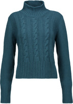 Marni Cable-knit wool turtleneck sweater