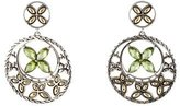 John Hardy Peridot Batu Kawung Drop Earrings