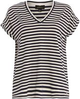 House of Fraser Ballentina Tee with Yarn Dye Stipes