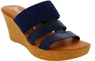 Italiana By Italian Shoemakers Womens Mandie Wedge Sandals