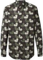 Ports 1961 geometric print shirt - men - Cotton - 39