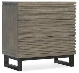 Hooker Furniture Annex 3 Drawer Nightstand