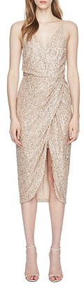 Jonathan Simkhai Sequin-Embellished Wrap Dress