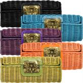 Woven Wicker Clutch by Kotur