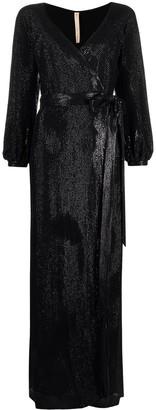 Maria Lucia Hohan Sabrina sequin-chiffon maxi dress