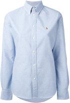 Ralph Lauren embroidered logo shirt - women - Cotton - M