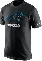 Nike Men's Carolina Panthers Facility T-Shirt