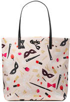 Kate Spade Hop To It Bon Shopper Leather Shoulder Bag
