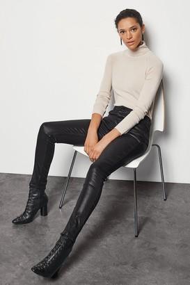 Karen Millen Coated Cigarette Jeans