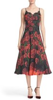 Tracy Reese Women's Lace Trim Flared Slipdress
