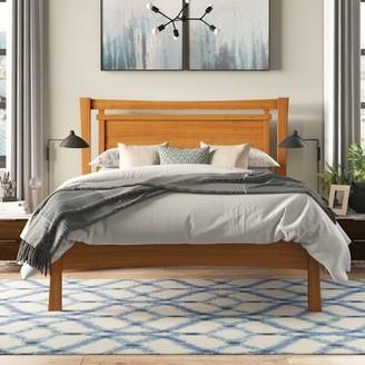 Copeland Furniture Monterey Platform Bed Color: Natural Cherry, Size: King
