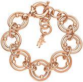 Folli Follie Bonds rose gold station bracelet