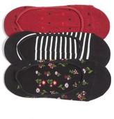 Kate Spade Women's 3-Pack Liner Socks