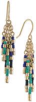 Lauren Ralph Lauren Gold-Tone Colorful Beaded Drop Earrings
