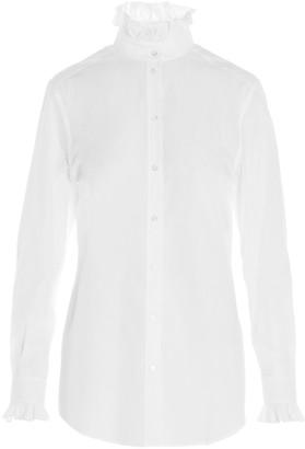 Dolce & Gabbana Ruffled Collar Shirt