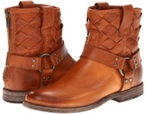 Frye Phillip Woven Harness (Whiskey Soft Vintage Leather) - Footwear