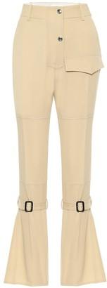 Victoria Beckham High-rise wool pants