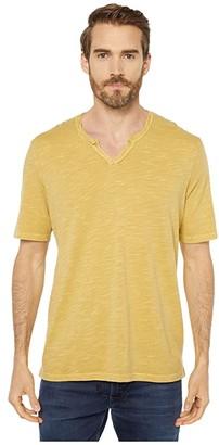 Mod-o-doc Topanga Short Sleeve Notch V-Neck Tee (Black) Men's T Shirt