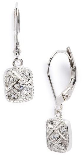 Judith Jack Women's Square Drop Earrings