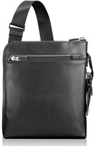 Tumi Men's 'Arrive - Owen' Leather Crossbody Bag - Black