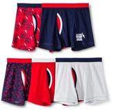 Circo Boys' Boxer Brief Underwear 5 pk Red Pop