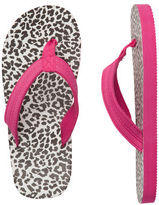 Carter's Leopard-Print Flip Flops