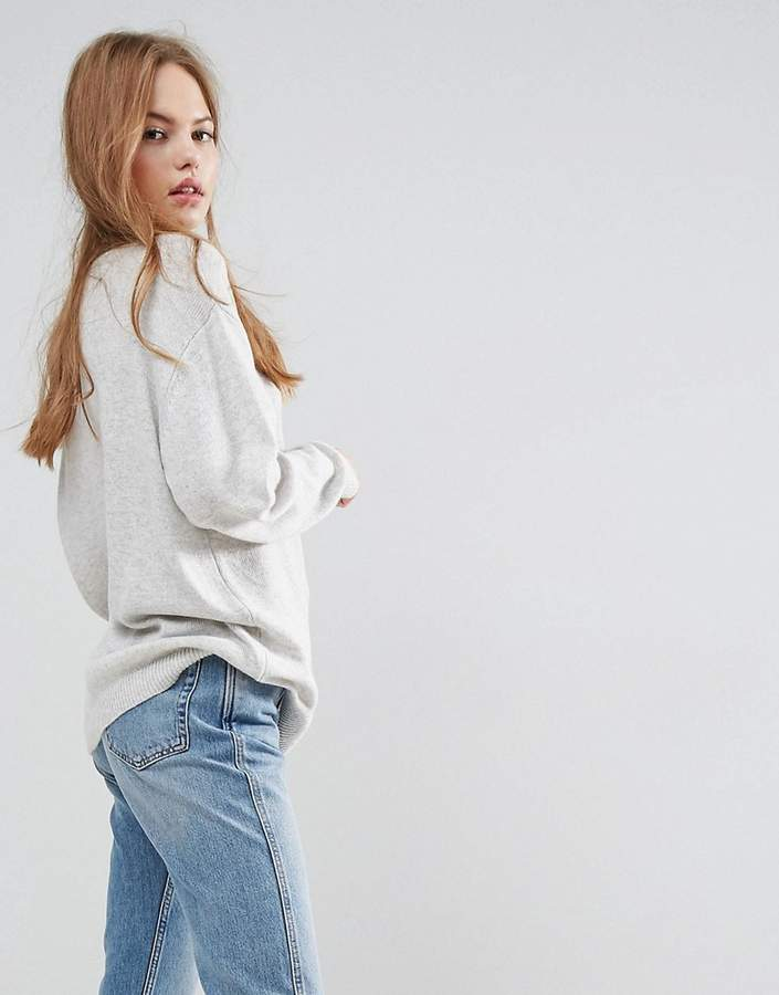 Asos Design Oversized Jumper with Crew Neck