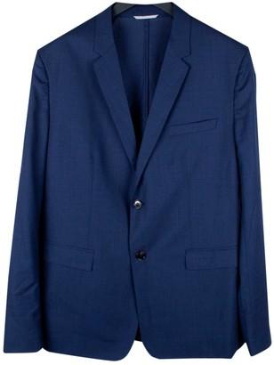 Christian Dior Blue Wool Jackets