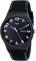 Swatch Men's Originals SUOB711 Silicone Swiss Quartz Watch