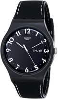 Swatch Men's Originals SUOB711 Silicone Swiss Quartz Watch