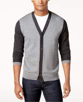 Tommy Hilfiger Men's Covington Colorblocked Cardigan, Created for Macy's, Created for Macy's