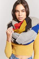 Forever 21 Colorblocked Oblong Scarf