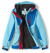 Classic Little Girls Squall Jacket-Mulberry Wine