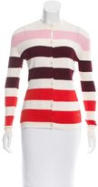 Christian Dior Striped Cashmere Cardigan w/ Tags