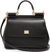 Dolce & Gabbana Sicily medium leather cross-body bag